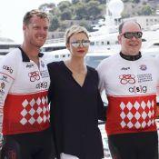 Charlene de Monaco, blessée, regarde Albert et Gareth relever son challenge