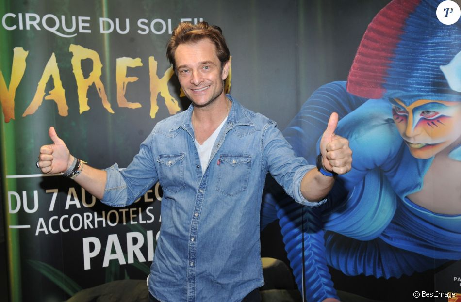 "Semi-exclusif - David Hallyday - Première du spectacle du Cirque Du Soleil ""VareKai"" à L'AccordArena de Paris, France, le 7 décembre 2016. © Giancarlo Gorassini/Bestimage"
