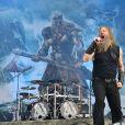 Amon Amarth au Download Festival, première édition en France, à l'hippodrome de Longchamp à Paris le 10 juin 2016. © Lionel Urman / Bestimage