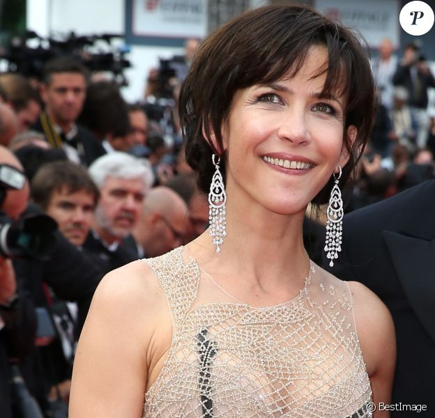 """Sophie Marceau - Montée des marches du film """"La Glace et le Ciel"""" pour la cérémonie de clôture du 68 ème Festival du film de Cannes, à Cannes le 24 mai 2015."""