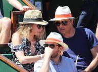 Laura Smet et son chéri non loin d'Estelle Mossely enceinte à Roland-Garros