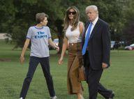 Melania Trump et son fils Barron emménagent à la Maison Blanche