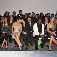 Dita von Teese, Michelle Yeoh, Elsa Pataky, Rachida Brakni, Kanye West et Mischa Barton au défilé Elie Saab