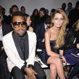 Kanye West et Mischa Barton au défilé Elie Saab