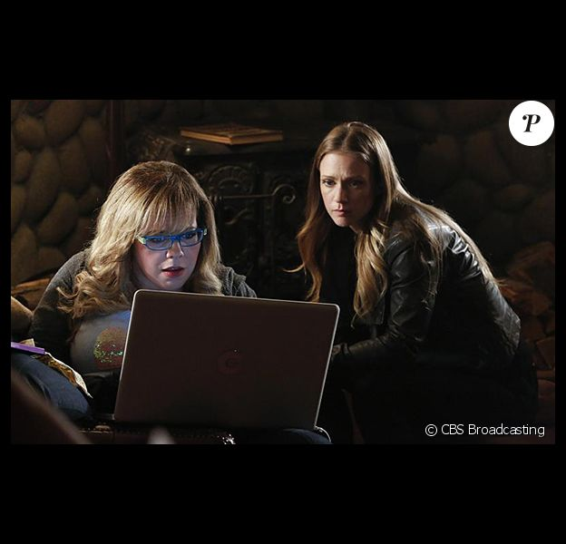 """Kirsten Vangsness et A.J. Cook dans """"Esprits Criminels"""". Les deux actrices jouent dans la série depuis ses débuts en 2005."""