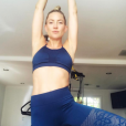 Kate Hudson fan de yoga - Photo publiée sur Instagram au mois d'avril 2016