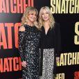 """Goldie Hawn avec sa fille Kate Hudson à la première de """"Snatched"""" au Village Theatre à Los Angeles, le 10 mai 2017."""