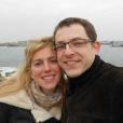 Erwan Le Razavet avec sa femme Isaure Montfort.