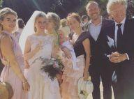 Nelson Monfort : Sa fille Isaure, superbe en robe de mariée au côté de sa soeur