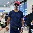 Shemar Moore arrive à l'aéroport de Los Angeles, le 25 mai 2016 © CPA/Bestimage