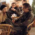 Lindsay Lohan, ici en compagnie d'Eduardo Costa, l'un des trois hommes avec lesquels elle a flirté au Nouvel An