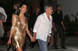 Amal et George Clooney, parents gaga : Les jumeaux sont