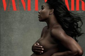 Serena Williams : Enceinte, la star du tennis pose nue pour Vanity Fair