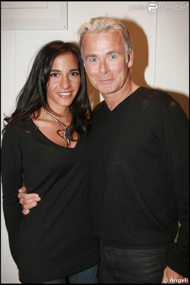 Franck dubosc et sa compagne au d ner annuel de l 39 h tel guanahani 28 01 09 - Laurent boyer sa fille ...
