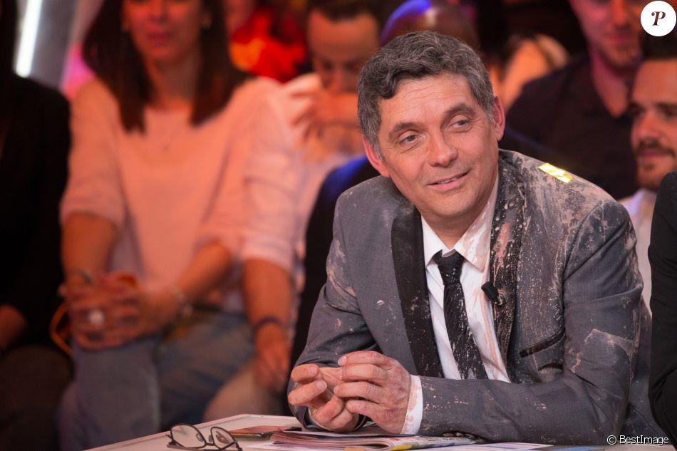 """Exclusif - Maxime Guény, Thierry Moreau, Agathe Auproux - 1000ème de l'émission """"Touche pas à mon poste"""" (TPMP) en prime time sur C8 à Boulogne-Billancourt le 27 avril 2017."""