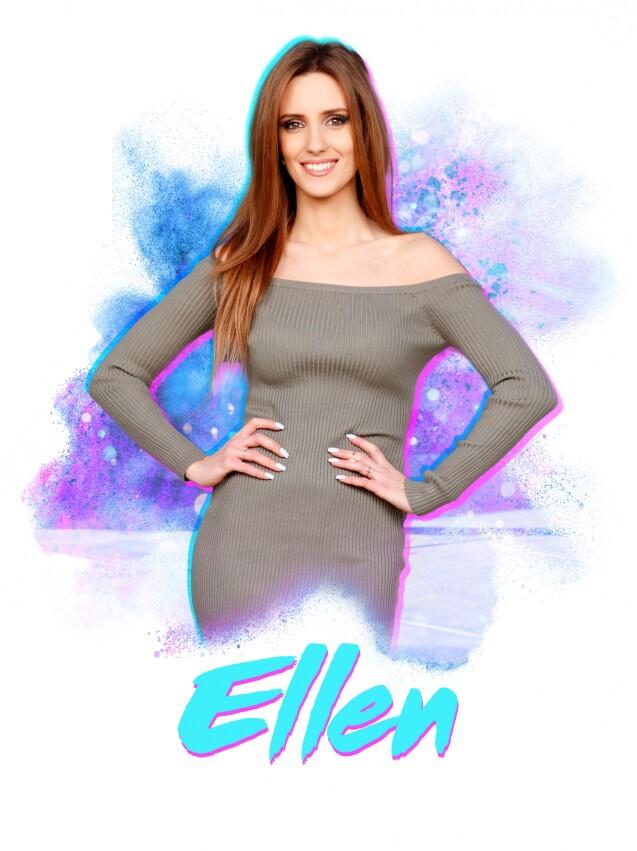 """Ellen, candidate anonyme des """"Anges 9"""", photo officielle"""