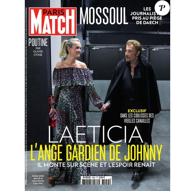 Couverture de Paris Match (29 juin 2017)