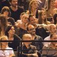 Exclusif : Laeticia Hallyday et David Hallyday au concert des Vieilles Canailles à l'AccordHôtels Arena le 24 juin 2017