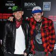Soirée ESPN The Magazine Next Party, à l'approche du Super Bowl : Joel et Benji Madden