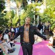 """Jeremy Meeks - Défilé de mode Philipp Plein dans la villa """"La Jungle du Roi"""" lors du 70ème festival de Cannes le 24 mai 2017."""