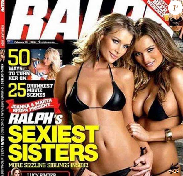 Joanna et Marta Krupa pose pour le magazine australien Ralph