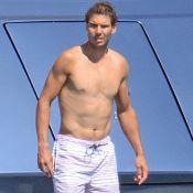 Rafael Nadal : Abdos en vue sur un yacht, sa chérie en petit bikini