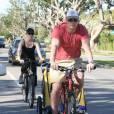 Le couple Naomi Watts-Liev Schreiber en promenade avec Alexander (caché dans le pousse-pousse)