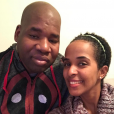 John Blackwell Jr. et son épouse  Yaritza sur une photo publiée sur Instagram le 25 février 2017
