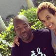 John Blackwell Jr. et son épouse  Yaritza sur une photo publiée sur Instagram en novembre 2014