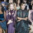 "Karidja Touré, Déborah François, Clotilde Courau, Roxane Mesquida au défilé de mode Haute-Couture automne-hiver 2017/2018 ""Elie Saab"" au Pavillon Cambon à Paris, le 5 juillet 2017 © Olivier Borde/Bestimage  People at Elie Saab fashion Haute-Couture Fall/Winter 2017/2018 at the Pavillon Cambon in Paris, on July 5 2017.05/07/2017 - Paris"
