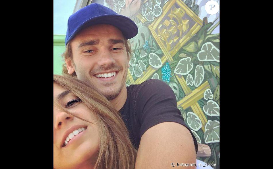 Antoine Griezmann et Erika Choperena en lune de miel, Instagram, le 25 juin 2017.