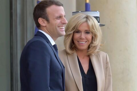 Emmanuel et Brigitte Macron : Hôtes décontractés et complices à l'Élysée