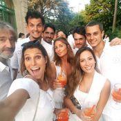 Laury Thilleman et Silvia Notargiacomo sublimes en blanc avec leurs amoureux !