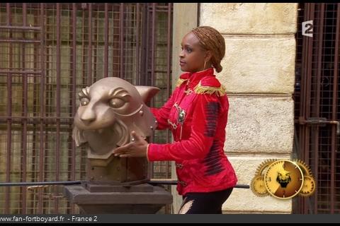 """Félindra (Fort Boyard) : """"Quand je quitte le fort, je suis Monique"""""""