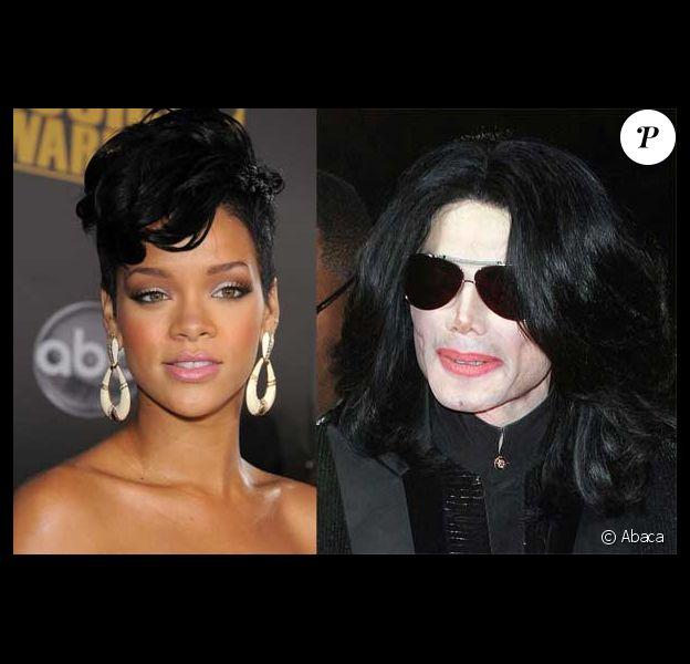 Michael Jackson et Rihanna
