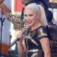 Gwen Stefani en concert au Rockefeller Plaza à New York, le 14 juillet 2016