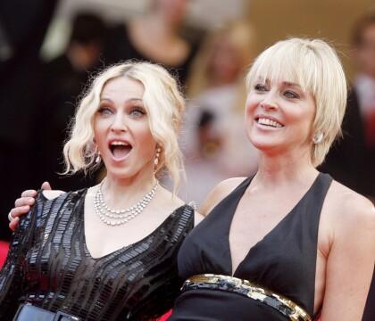 """Sharon Stone """"médiocre"""" selon Madonna : La réponse de l'actrice est superbe !"""
