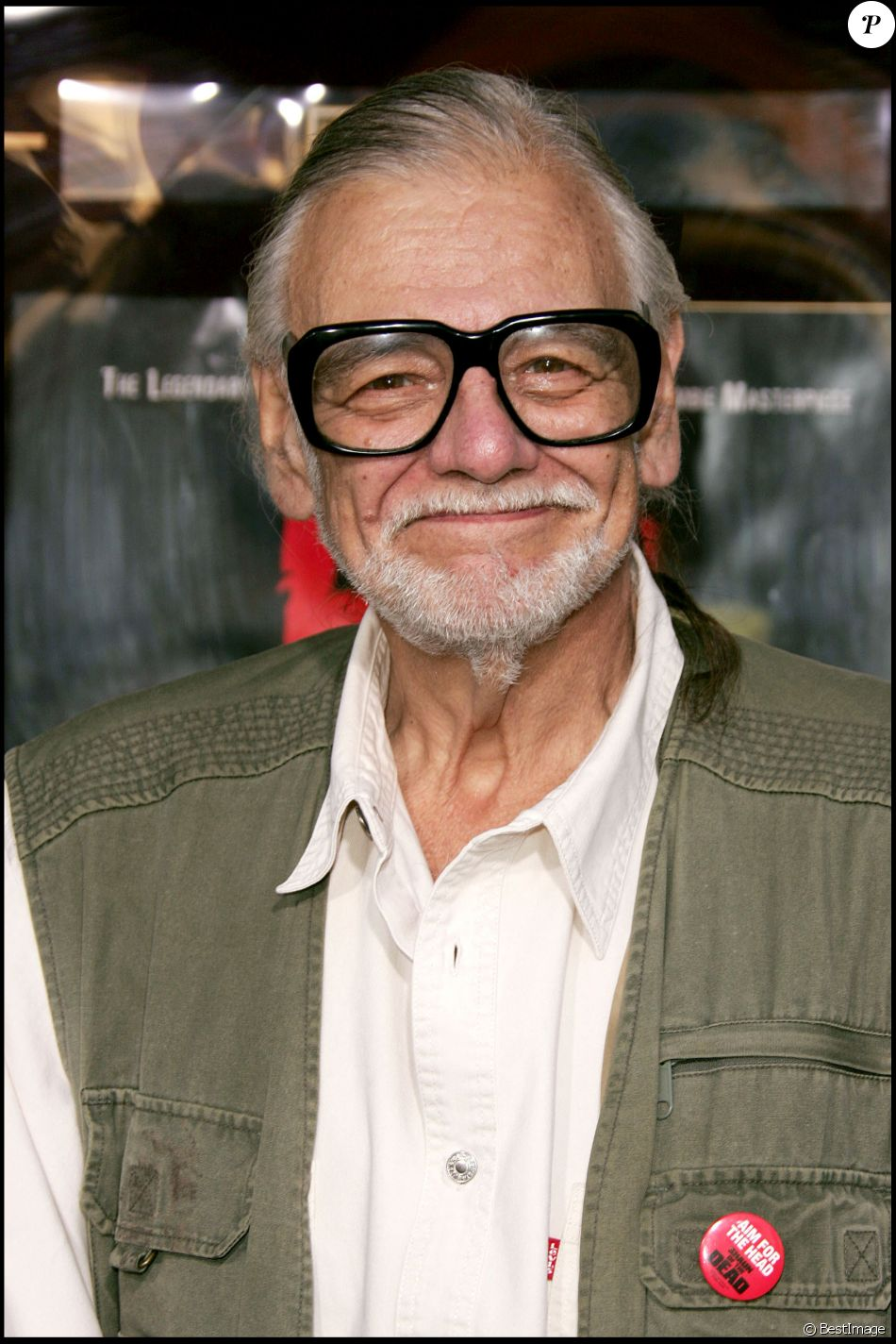 George Romero - Première de Land of the Dead, à Los Angeles, le 20 juin 2005