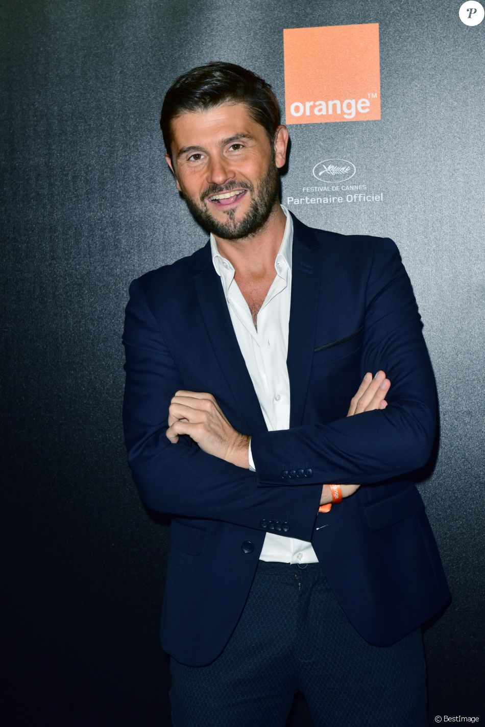 Christophe Beaugrand - Soirée Orange Cinéma sur la plage du Majestic lors du 70ème Festival International du Film de Cannes, France, le 20 mai 2017. © Giancarlo Gorassini/Bestimage