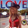 "Nicole Kidman en couverture du numéro ""Love 18"" du magazine LOVE. Photo par Carine Backoff."