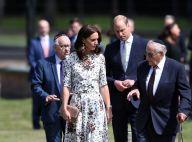 Kate Middleton et le prince William : Emotion au camp de la mort de Stutthof