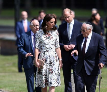 Kate Middleton et le prince William : Emotion au camp de la mort de Stutthof