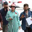 """La chanteuse Pink à son arrivée sur le plateau de l'émission """"Jimmy Kimmel Live"""" à Los Angeles. Le 23 mai 2016"""
