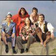 Marilou Berry, ici avec sa mère, Jacky Nercessian, David Rousseau et Lannick Gautry