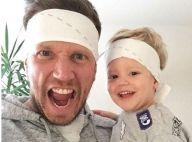 """Benjamin Machet (Les Anges) et son fils : Duo """"canon"""" et """"mignon"""" sur Instagram"""