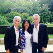 Alain Delon crée la surprise au Sénat avec Cyril Viguier