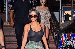 Kim Kardashian : Ultrasexy sans soutien-gorge comme Kendall Jenner !