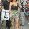 Kim Kardashian et Kendall Jenner à New York, le 1er août 2017.