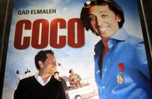 Gad Elmaleh, actuellement en promo pour Coco en Belgique... il a déjà le look Tintin !