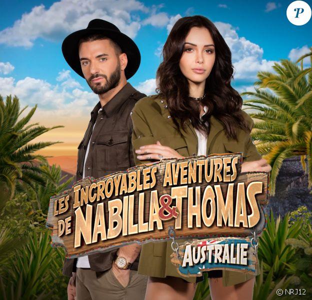 """Nabilla et Thomas Vergara, stars d'une nouvelle télé-réalité baptisée """"Les incroyables aventures de Nabilla et Thomas en Australie"""" sur NRJ12."""
